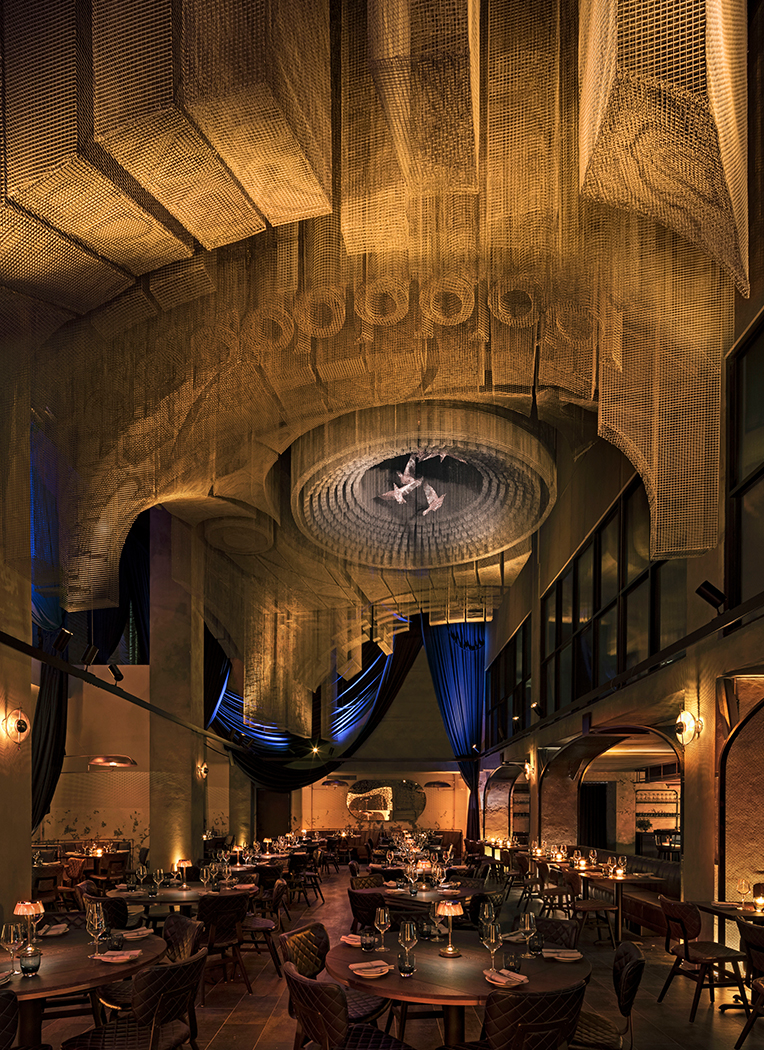 MEV Cathedrale Dining Room (Vertical)