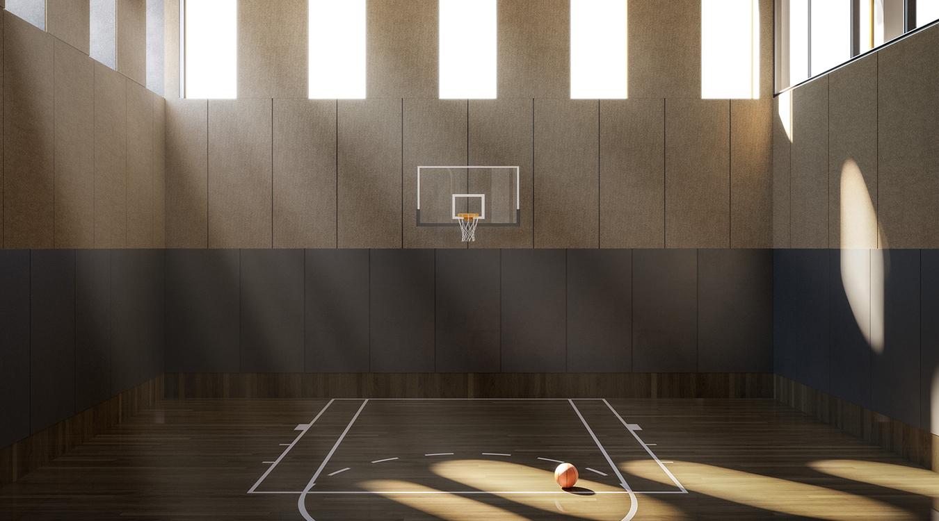 130w basketball court