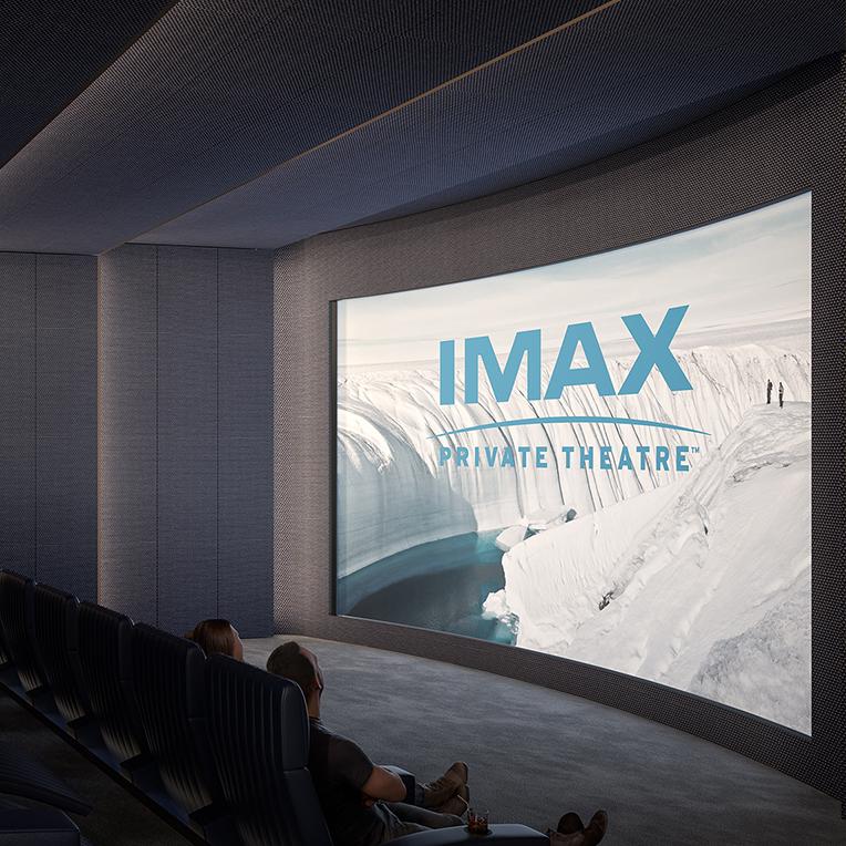 130w imax theatre