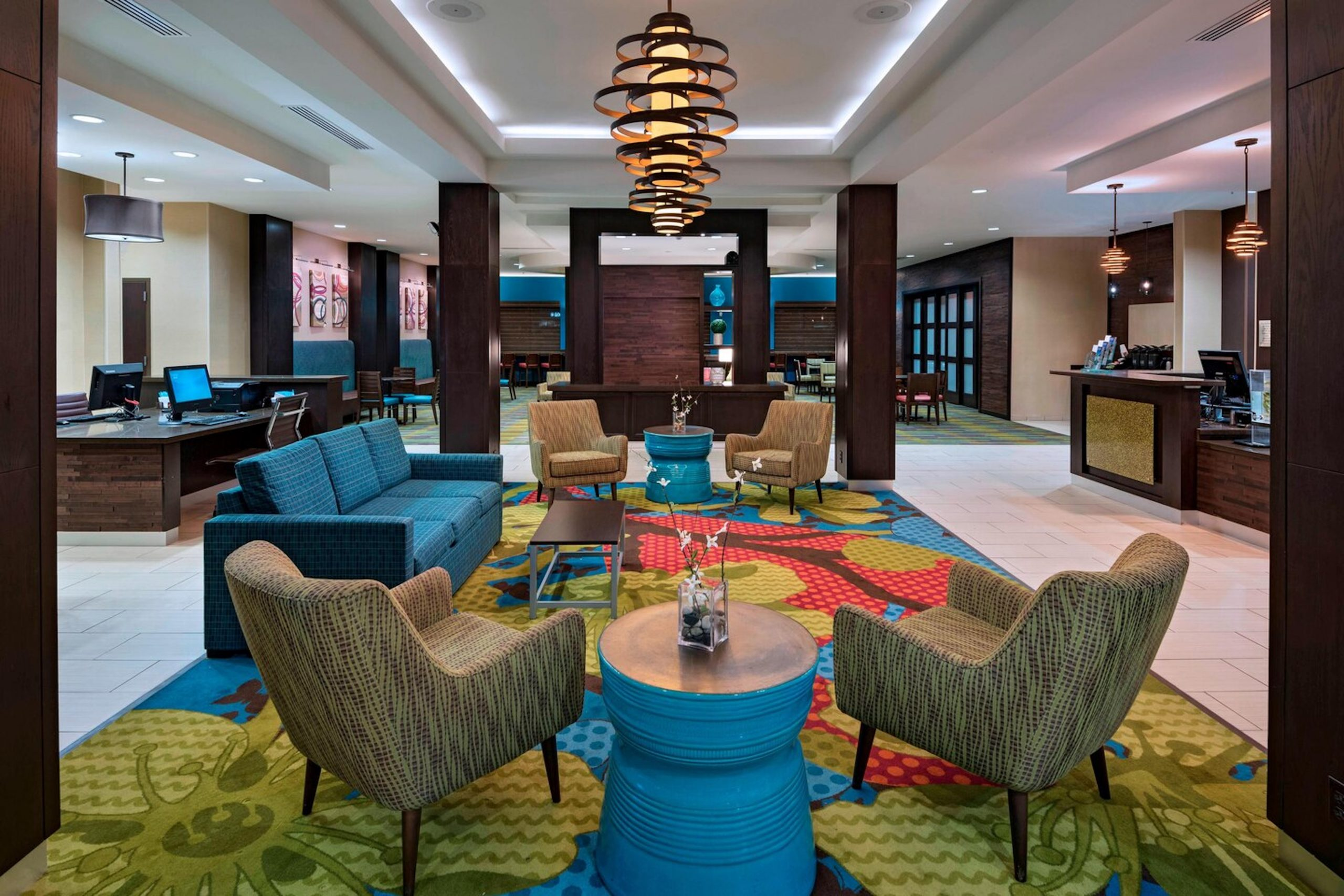 Fairfield Inn _ Suites Austin NW_Research Blvd_Lobby